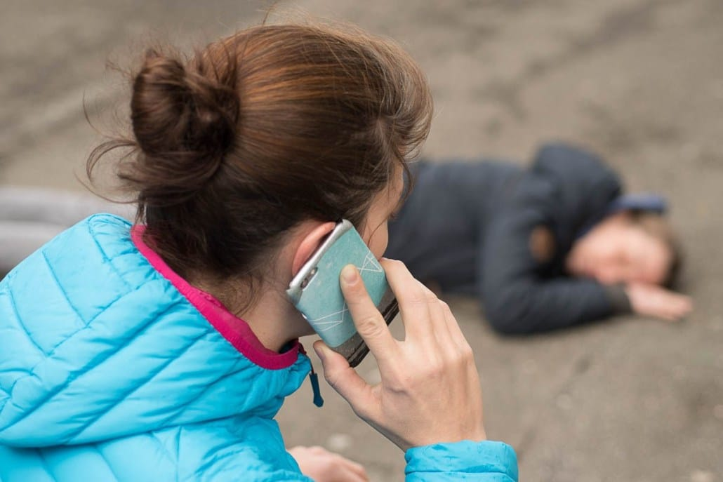 Fotoshooting Erste Hilfe Notruf