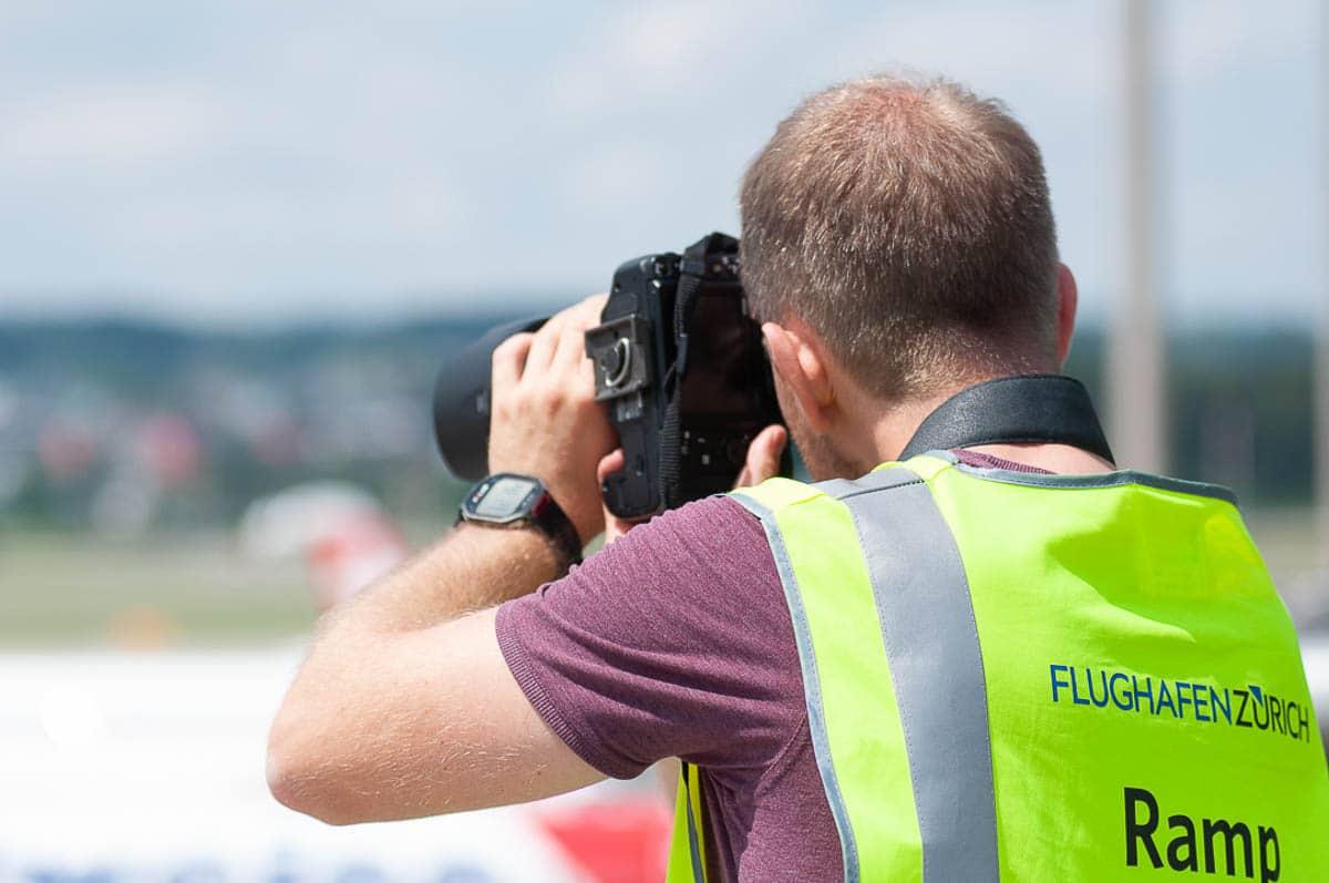 Flughafen Zürich Fotograf