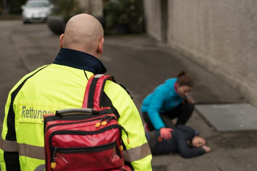 Fotoshooting Erste Hilfe Rettungsdienst