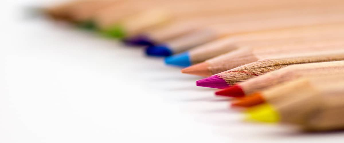 Bunte Farbstifte