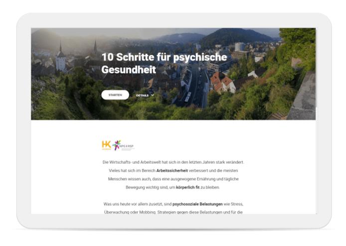 10 Schritte für psychische Gesundheit