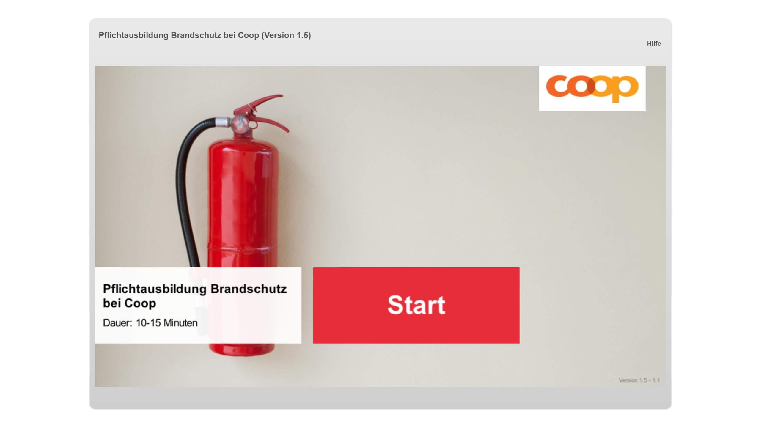 Brandschutz Coop