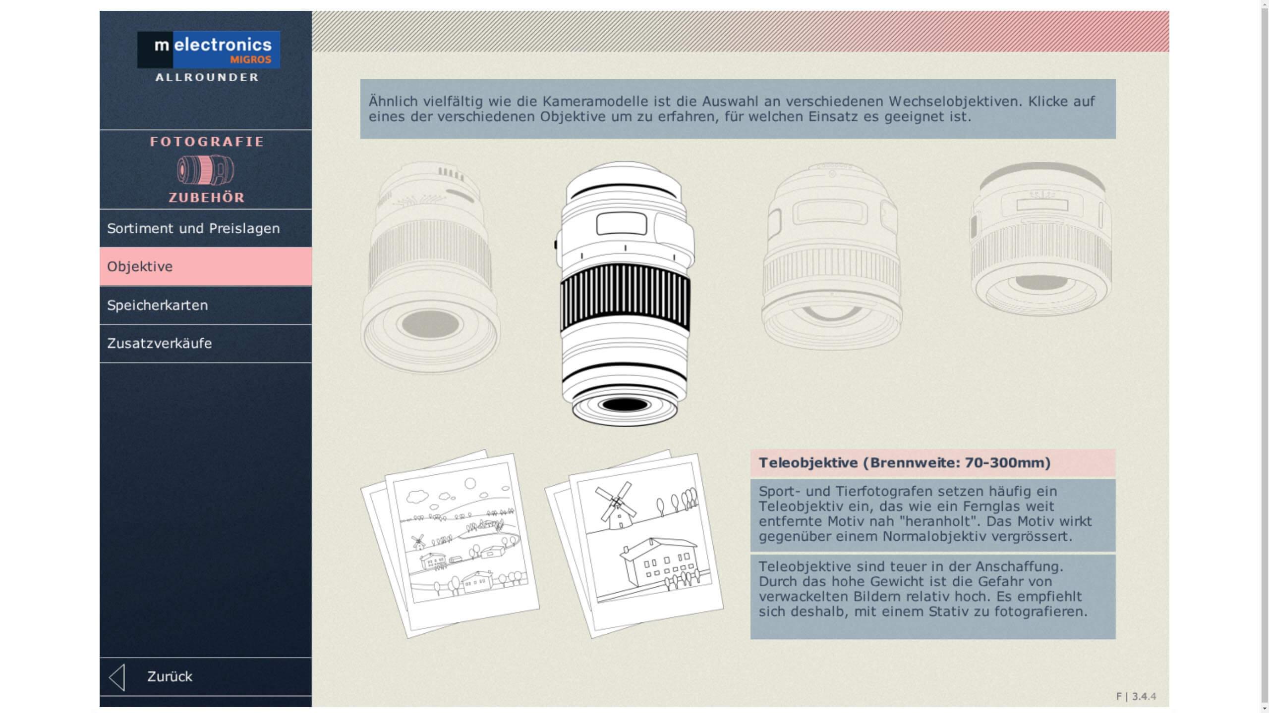 melectronics Kameraeinstellungen