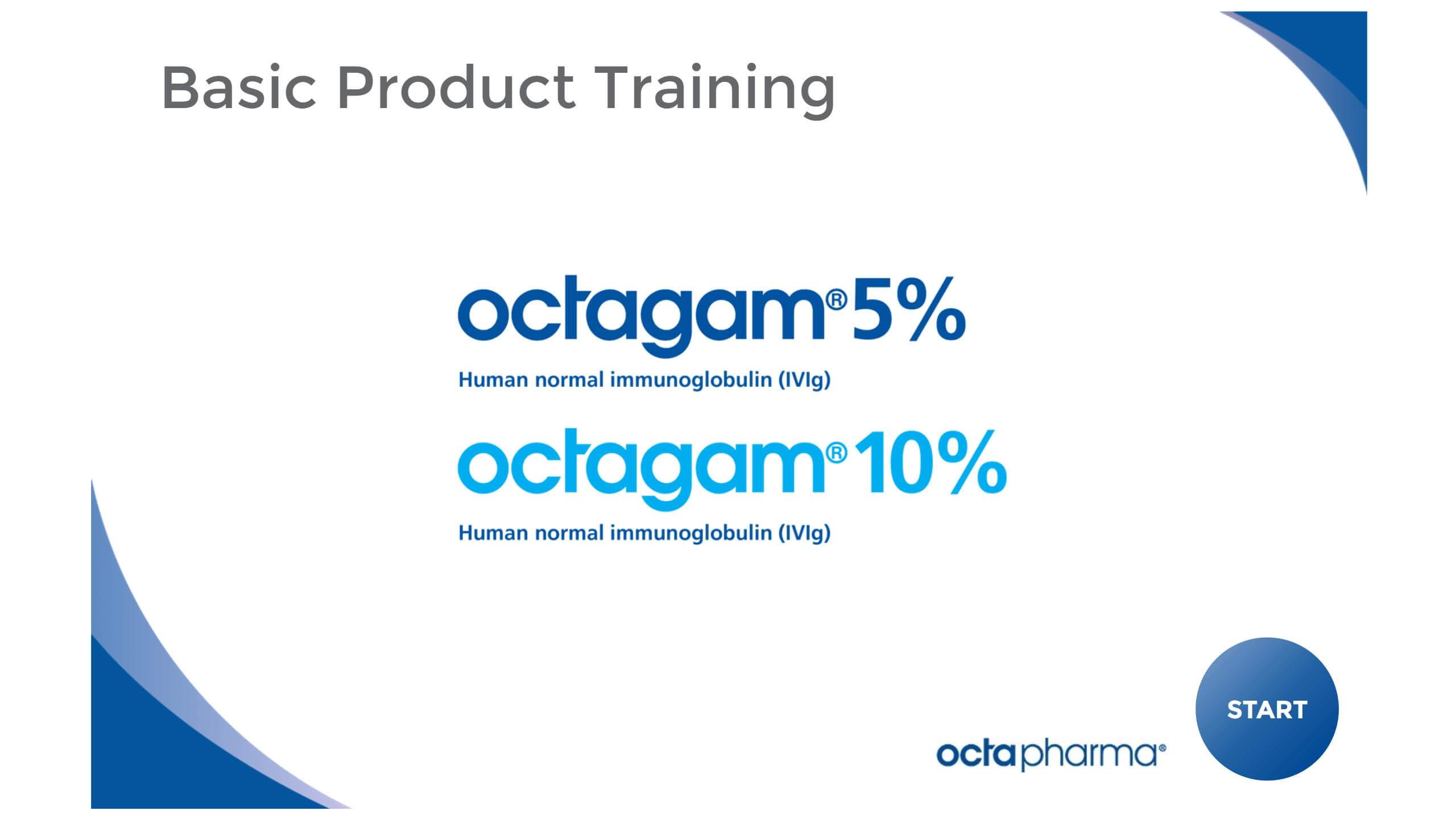 Octagamma Training