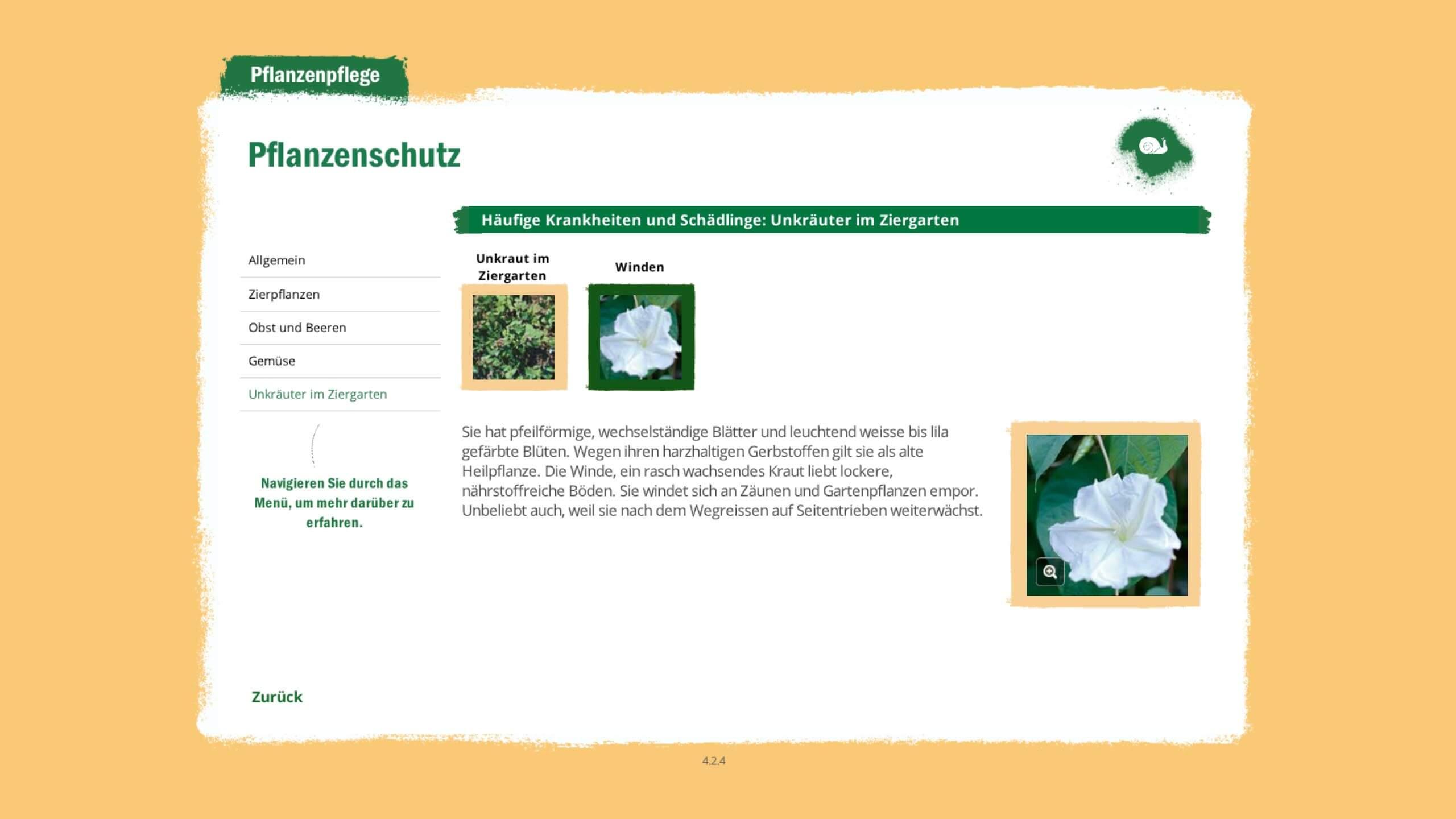 Pflanzenschutz Training
