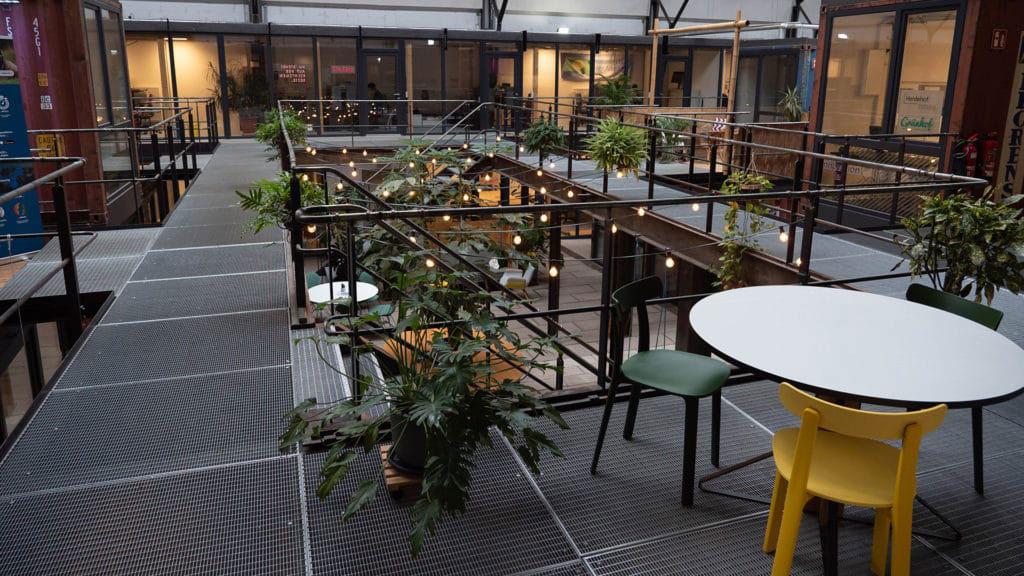 Freiburg Lokhalle Innehnhof