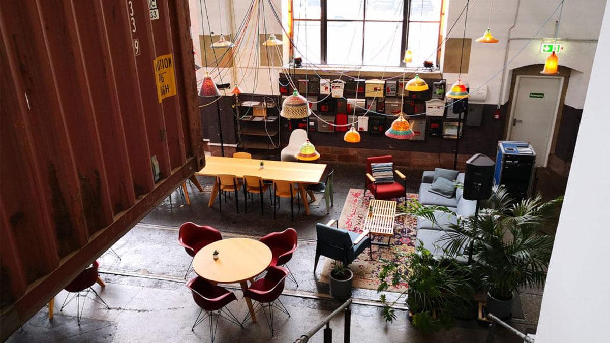Freiburg Lokhalle Workspace