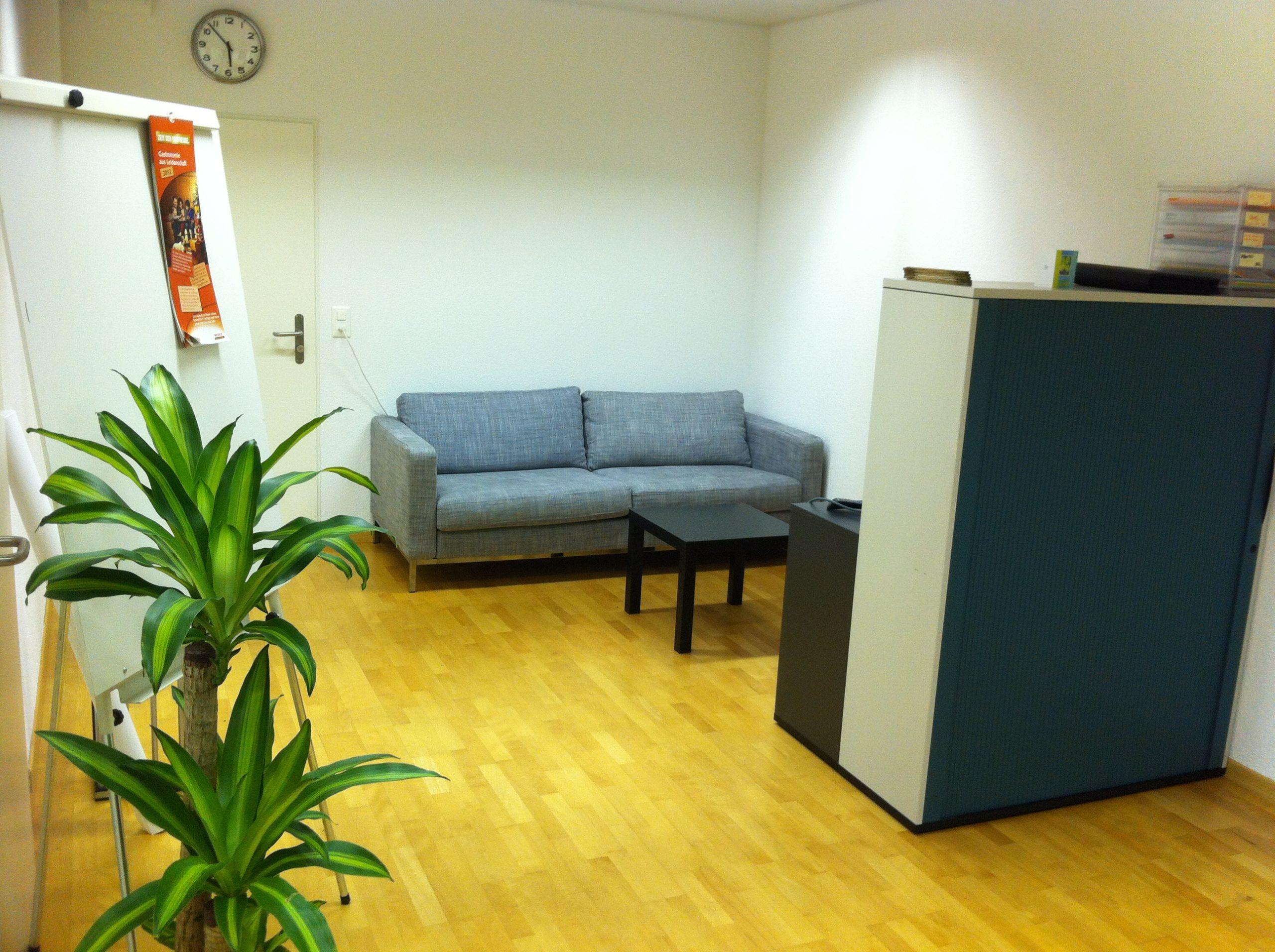Erstes Büro in Wettingen
