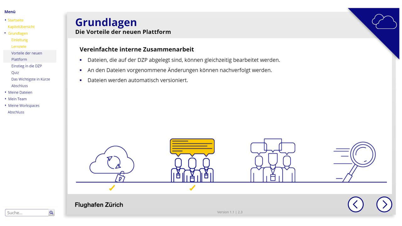 Digitale Zusammenarbeitsplattform